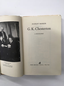 G. K. Chesterton (A biography)