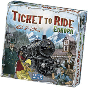 Asmodee TICKET TO RIDE EUROPA
