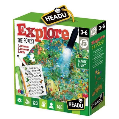 HEADU EXPLORA LA FORESTA