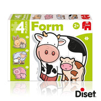 DISET PUZZLE FORM BABY MUCCA