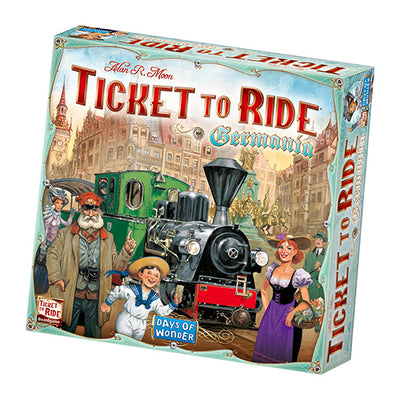 Asmodee TICKET TO RIDE GERMANIA