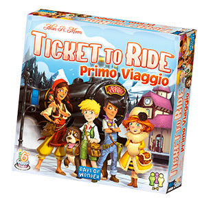 Asmodee TICKET TO RIDE PRIMO VIAGGIO