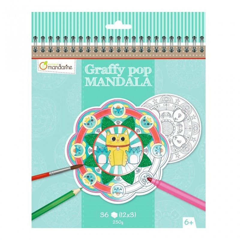 Avenue Mandarine GRAFFY POP, MANDALA ANIMALI