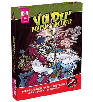 Red Glove VUDU' DOUBLE TROUBLE