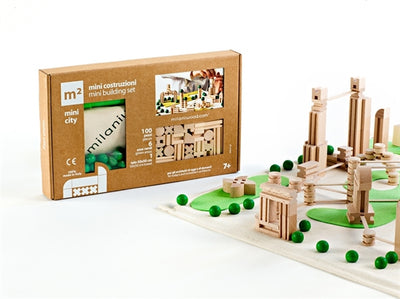 Milaniwood METRO QUADRO MINI CITY