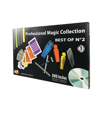 MAGIA PROFESSIONAL MAGIC KIT BEST OF 2 + DVD