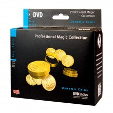 MAGIA PROFESSIONAL MAGIC MONETE DINAMICHE + DVD