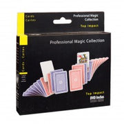 Magia PROFESSIONAL MAGIC mazzo di carte TOP IMPACT + DVD