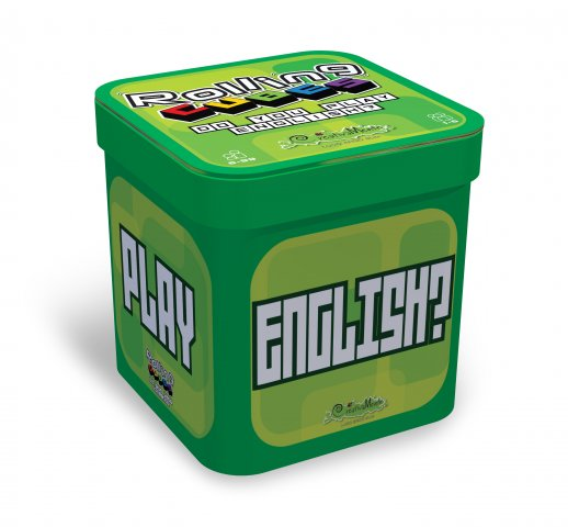 "Creativamente Rolling Cubes ""Do You Play English?"""