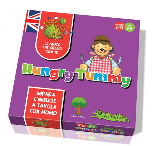Creativamente Grow Your English HUNGRY TUMMY