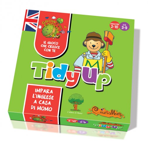 Creativamente Grow Your English TIDY UP