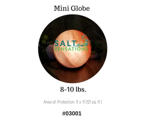 Himalayan Salt Lamp Globe Shape