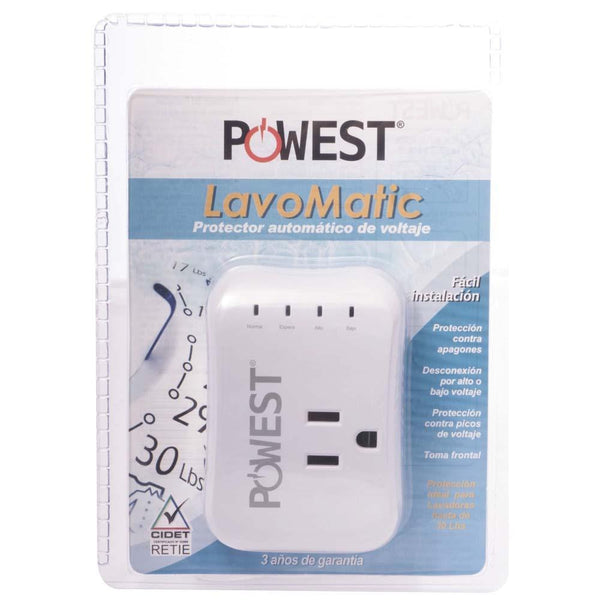 PROTECTOR DE VOLTAJE LAVOMATIC POWEST