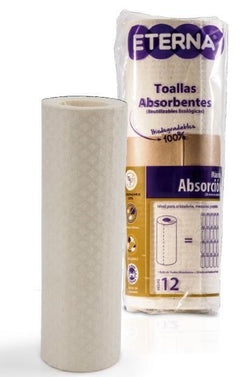 TOALLAS ABSORBENTES ROLLO ETERNA