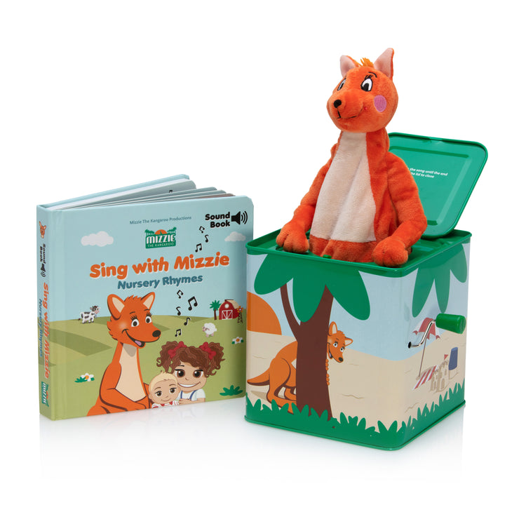 Musical Gift Set - Mizzie Sound Book and Music Box