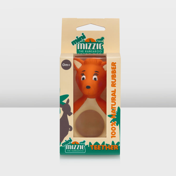 mini Mizzie - 100% Natural Rubber Teether