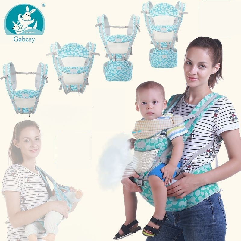 30kg Ergonomic Storage Hip Seat Baby Carrier
