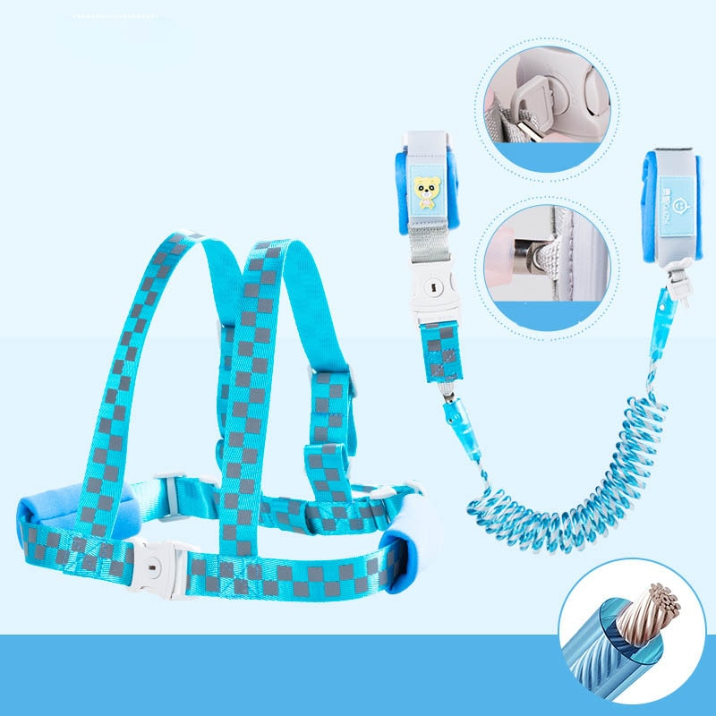 Anti Lost Wrist Link Toddler Safety Leash