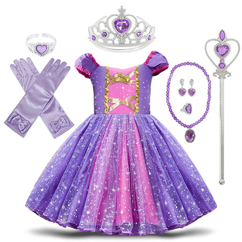 Baby Sofia Princess Costume Clothes
