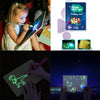 New Painting Drawing Board With Light Pen for Kids