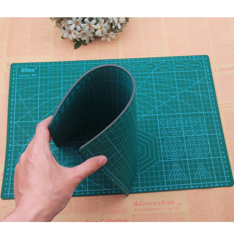 A3 PVC Patchwork Cutting Mat Pad