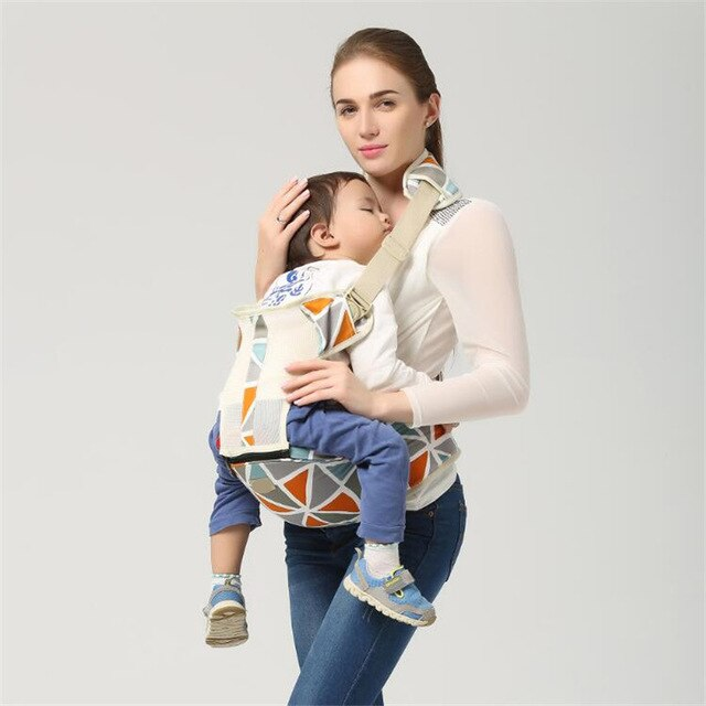 Breathable Mesh Baby Carrier Hip Seater
