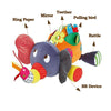 Brand New Educational Cartoon Plush Elephant Toys