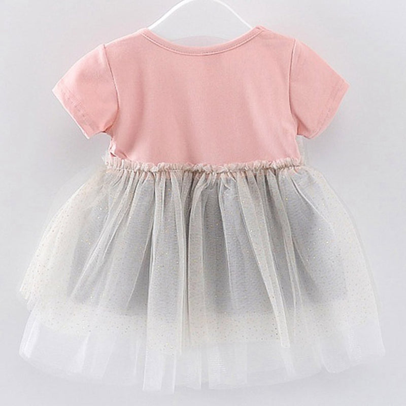 Baby Girls Summer Bow Princess Dress
