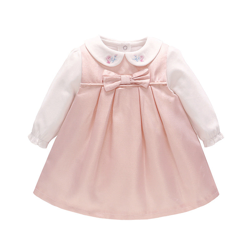 Baby Girl White Lace Baptism Dress