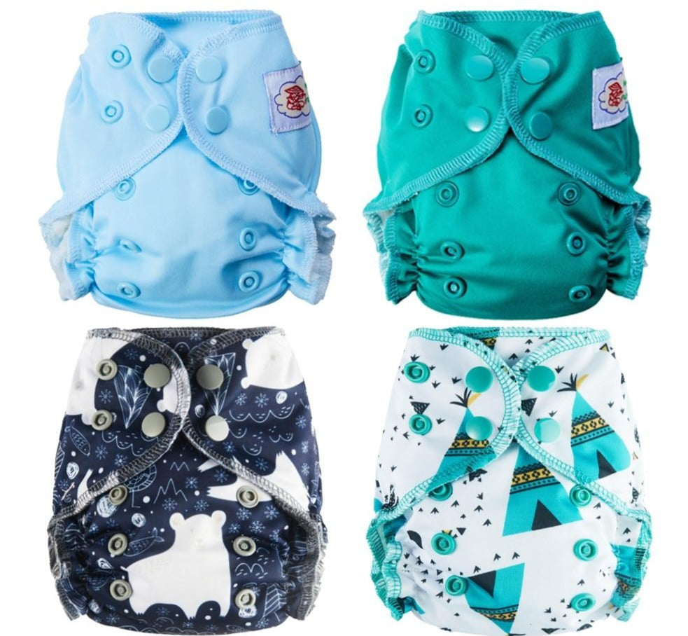 Organic Cotton Newborn Diapers