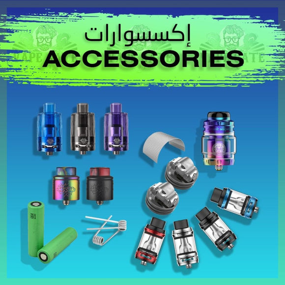Vape Accessories Dubai Abu Dhabi, Vape Gate UAE, Battery and Vape Kit Accessories