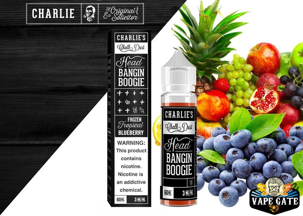 Head Bangin' Boogie 60ml E juice by Charlie's Chalk Dust UAE