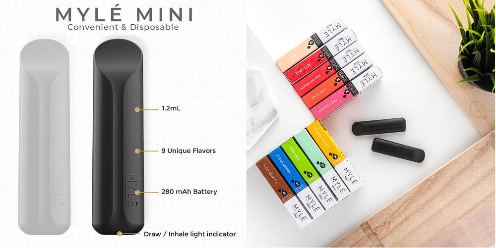 MYLE Mini Disposable Device Abu Dhabi Dubai  Sharjah UAE KSA Saudi Arabia