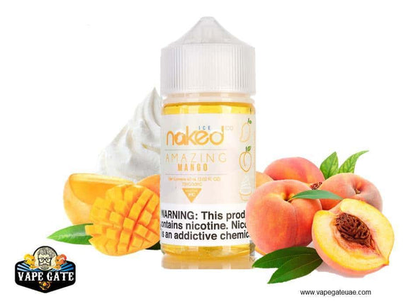 Naked 100 Amazing Mango Ice Dubai, Abu Dhabi and UAE