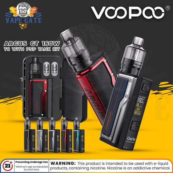 VOOPOO Argus GT 160W TC with PnP Tank Kit- UAE Abu dhabi KSA