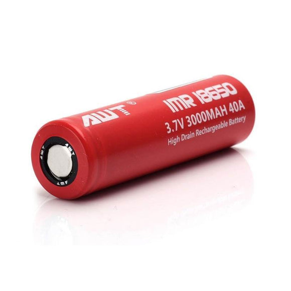 Authentic AWT IMR 18650 3000mAh Battery, Vape Gate UAE,| Vape Battery Dubai Abu Dhabi, Vape Accessories