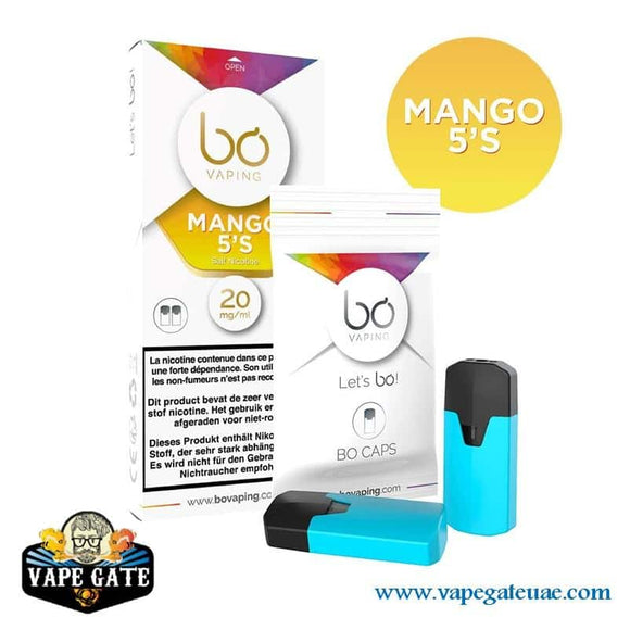 BO Caps Pods Ice Mango by BO Vaping