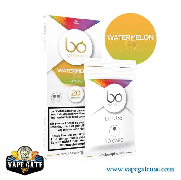 BO Caps Pods Ice Watermelon by BO Vaping ABu Dhabi Dubai UAE, Dubai Expo 2020