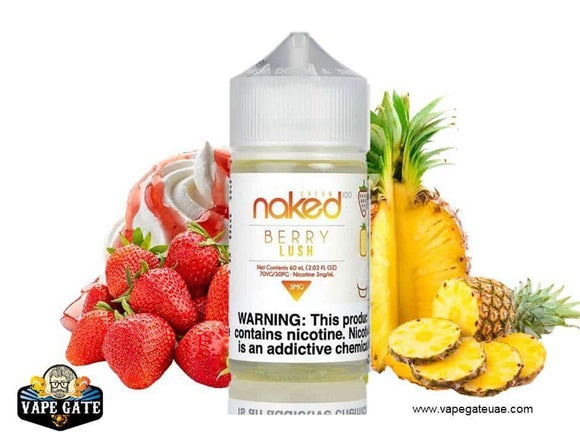 Naked 100 Berry Lush Dubai, Abu Dhabi and UAE