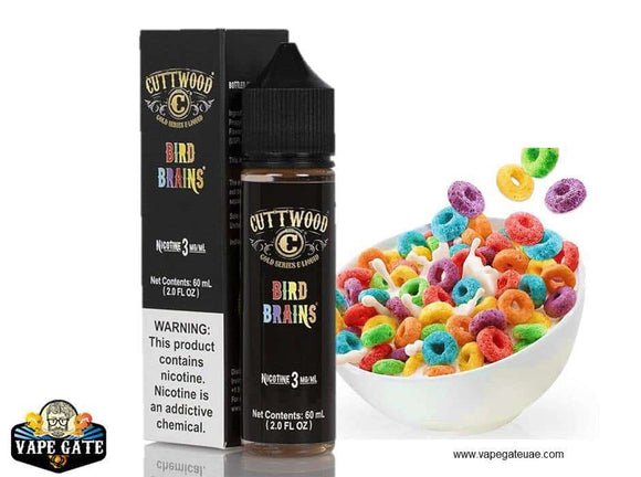 Bird brain by cuttwood 60ml eliquid, shop ejuice eliquid online in dubai uae, vape gate uae