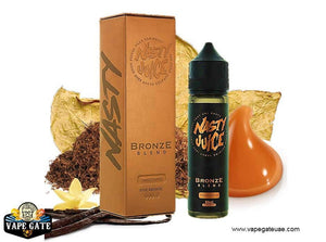 Bronze Blend Tobacco Series - Nasty - 3 mg / 60 ml - E-LIQUIDS - UAE - KSA - Abu Dhabi - Dubai - RAK