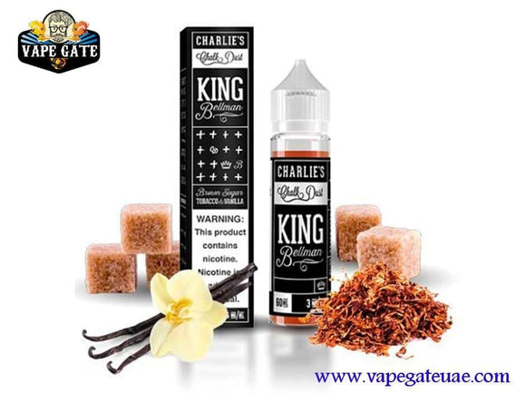 King Bellman 60ml E juice by Charlie's Chalk Dust UAE