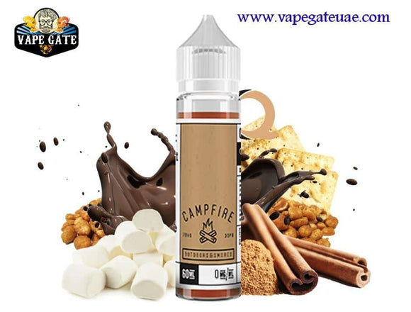 Campfire 60ml E juice by Charlie's Chalk Dust