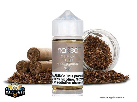 Naked 100 Cuban Blend Dubai, Abu Dhabi and UAE