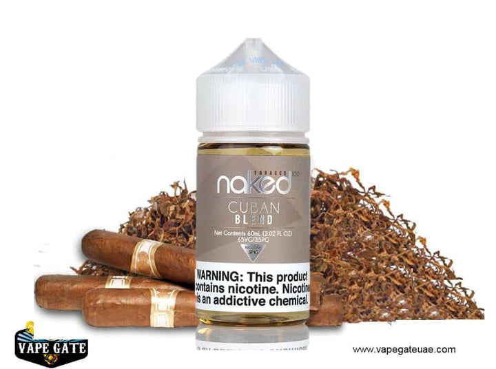 Naked 100 - Cuban Blend 60ml, REAL DISCOUNT WITH VAPE GATE