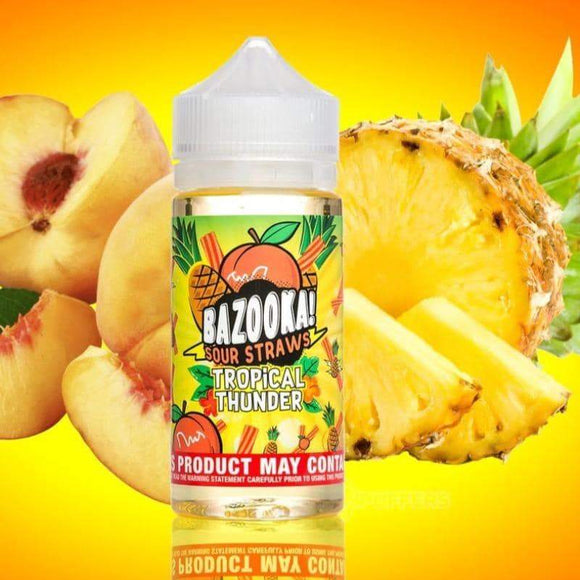 Tropical Thunder Pineapple Peach- Bazooka