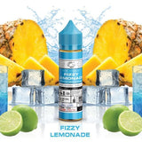 Basix Series Ice Cold Fizzy Lemonade E Liquid Abu Dhabi Dubai Al IAn UAE