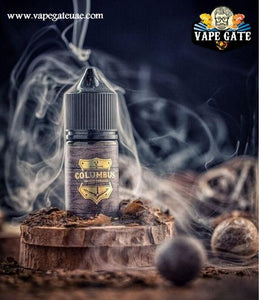 Columbus Sweet Tobacco 30ml SaltNic by Grand Eliquid available in Abu Dhabi Dubai online store