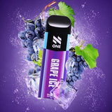 N One Disposable Pod System Vape Device - Grape Ice - Pods - UAE - KSA - Abu Dhabi - Dubai - RAK 6