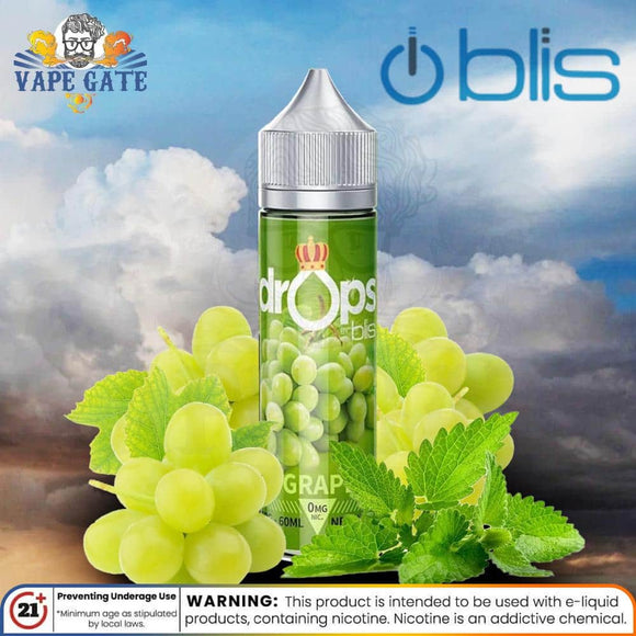 Grape mint-Drop by blis-Ejuice-Abu Dhabi-Dubai-UAE-Shop Vape Online-ksa-abu dhabi-riyadh